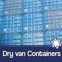 Dry van containers